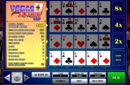 Joker Vegas 4up nyerőgépes játék