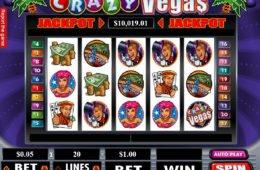 Letöltési nélküli Crazy Vegas online ingyenes nyerőgép
