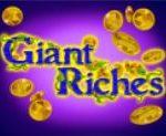 Ingyenes casino játék Giant Riches – vad szimbólum