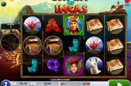 Játsszon ingyen a Lost City of Incas online nyerőgéppel
