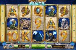 Pharaohs and Aliens ingyenes online casino játék