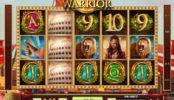 Rome Warrior befizetés nélkül játszható nyerőgépes játék
