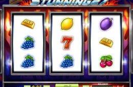 Casino nyerőgépes játék Stunning 27