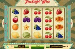 Befizetési nélkül játszható Vintage Win nyerőgép