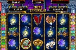 Count Spectacular ingyenes online nyerőgép