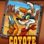 A Coyote Cash ingyenes nyerőgépes játék vad ikonja