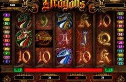 Befizetés nélküli Dragons nyerőgép