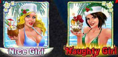 A Naughty or Nice Spring Break online nyerőgép vad ikonjai