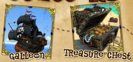 Scatters of online free game Pirate Isle