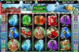 Casino nyerőgépes játék Return of the Rudolph online