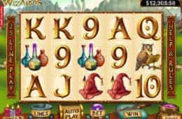 Játsszon az RTG Wild Wizards online nyerőgéppel