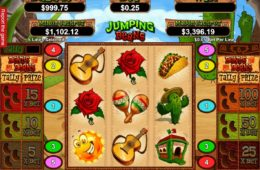 Jumping Beans nyerőgépes játék szórakozáshoz