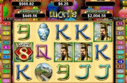 Regisztráció nélkül játszható Lucky 8 nyerőgép