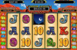 A Red Sands online kaszinó játék képe