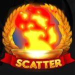 Scatter ikon a 2016 Gladiators játékból