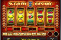 7´s Gold Casino ingyenes online nyerőgép