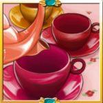 Az Afternoon Tea Party scatter szimbóluma