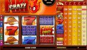 A Crazy Fire online casino játékgép képe