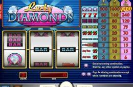 Ingyenes casino játék Lucky Diamonds