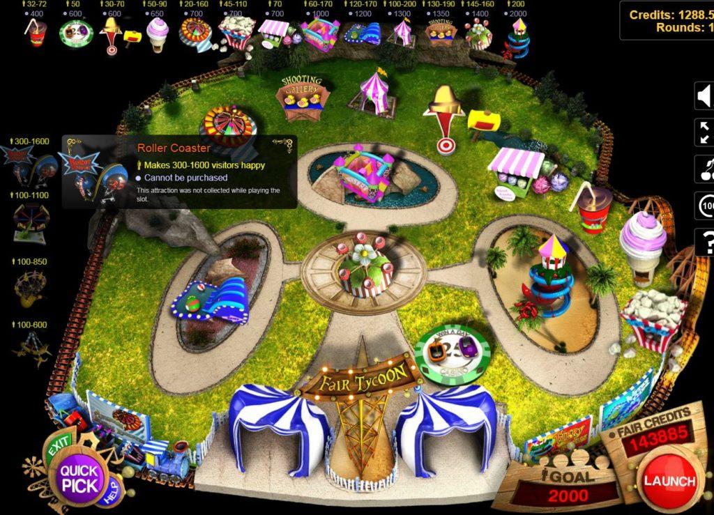 Online ingyenes nyerőgépes játék Fair Tycoon – bónusz játék