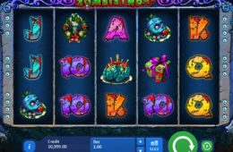 Play free online slot game Zombirthday