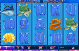 Darmowa gra slotowa Great Blue online