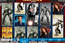 Darmowy automat Iron Man 2 - 50 Lines online