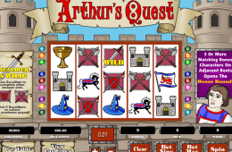 Darmowa gra na maszyny Arthur´s Quest online