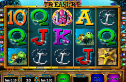 Obrazek z maszyny do gier online Deep Sea Treasure