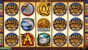Zdjęcie z darmowej gry kasynowej na automacie Eagle's Wings