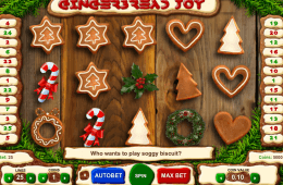 Darmowy automat do gier Gingerbread Joy online