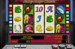 Zdjęcie z gry slotowej online Lucky Lady's Charm