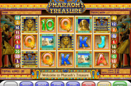 Darmowa gra na automaty Pharaoh´s Treasure online