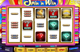 Darmowy automat do gier online Triple Bonus Spin ´n Win
