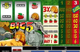 Darmowa maszyna online Big 5