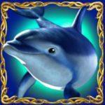 Symbol wild na internetowym automacie do gier slotowych Dolphin's Pearl Deluxe