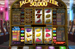Zdjęcie z automatu do gier online Jackpot Jester 50,000