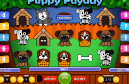 Darmowy slot online Puppy Payday