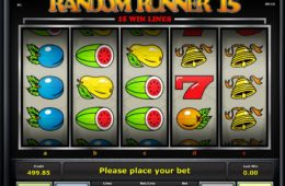 Darmowy automat do gier online Random Runner 15 bez depozytu