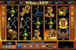 Darmowa maszyna do gier online Rise of Ra