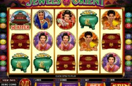 Automat do gier online Jewels of the Orient (za darmo)