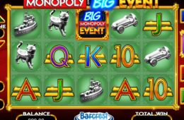 Automat do gier online Monopoly