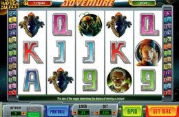 Obrazek z automatu do gier Outta Space