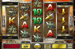 Automat do gier online Rambo (bez depozytu)