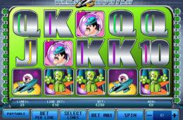 Zagraj na darmowym automacie Alien Hunter (bez depozytu)