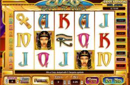 Obrazek z gry hazardowej online Cleo Queen of Egypt