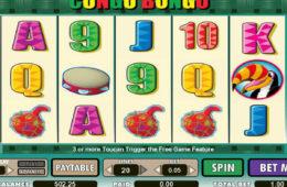Zagraj na darmowej maszynie online Congo Bongo