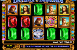 Automat online Da Vinci Diamonds