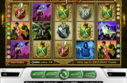 Gra hazardowa online Excalibur (nie wymaga depozytu)
