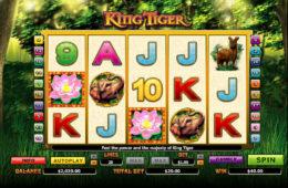 Automat do gier online King Tiger